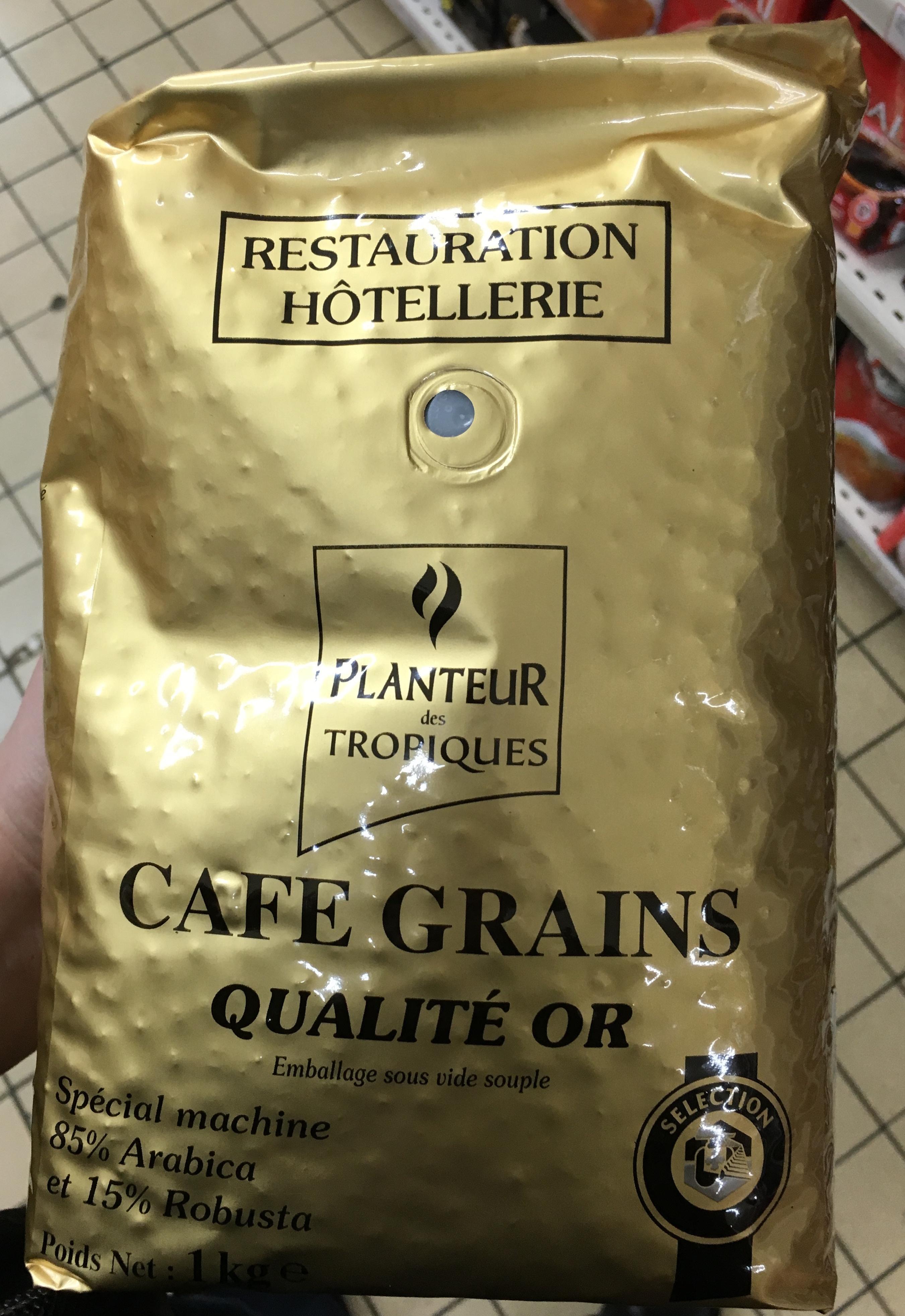 Ziarnista Planteur des Tropiques Qualité Or za 19,99zł/szt. przy zakupie 5 opakowań + 10zł rabatu @ Intermarche