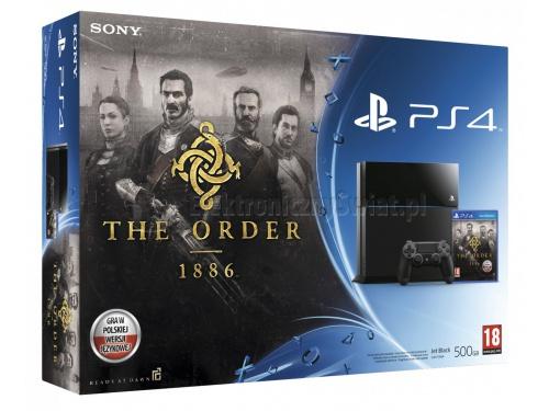 Playstation 4 + The Order:1886 za 1649zł @ElektronicznyŚwiat.pl