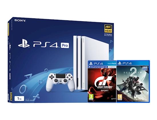 Playstation 4 Pro + Gran Turismo Sport + Destiny 2 za 304£ @Graingergames.co.uk