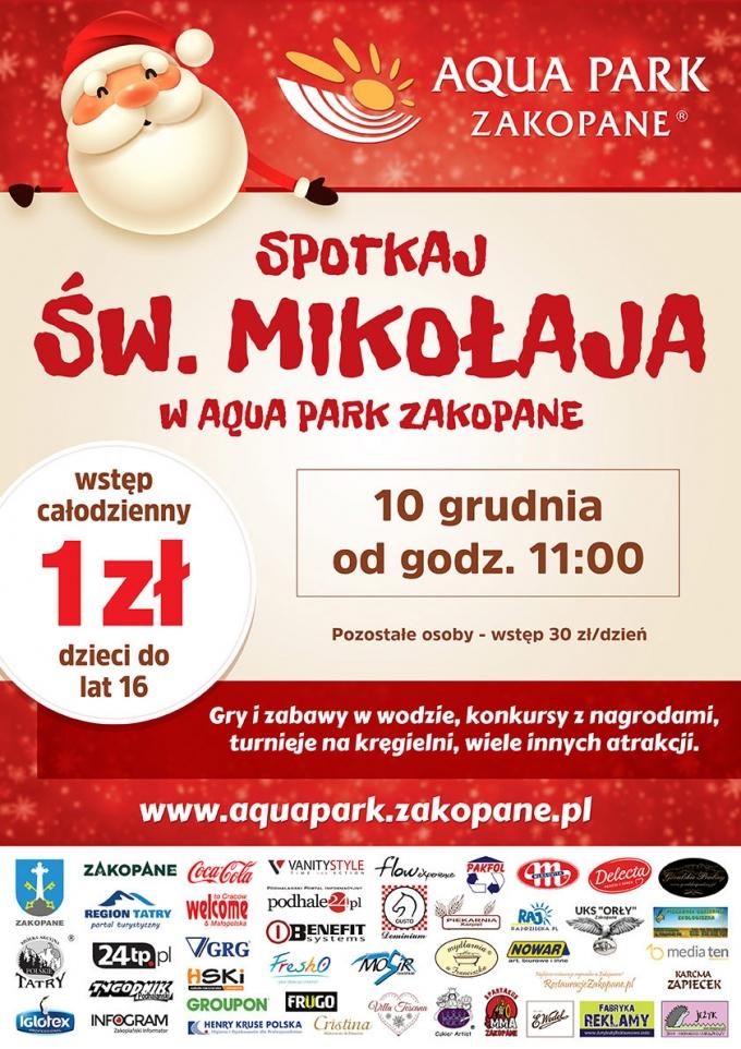 Aqua Park Zakopane: dzieci za 1zł cały dzień