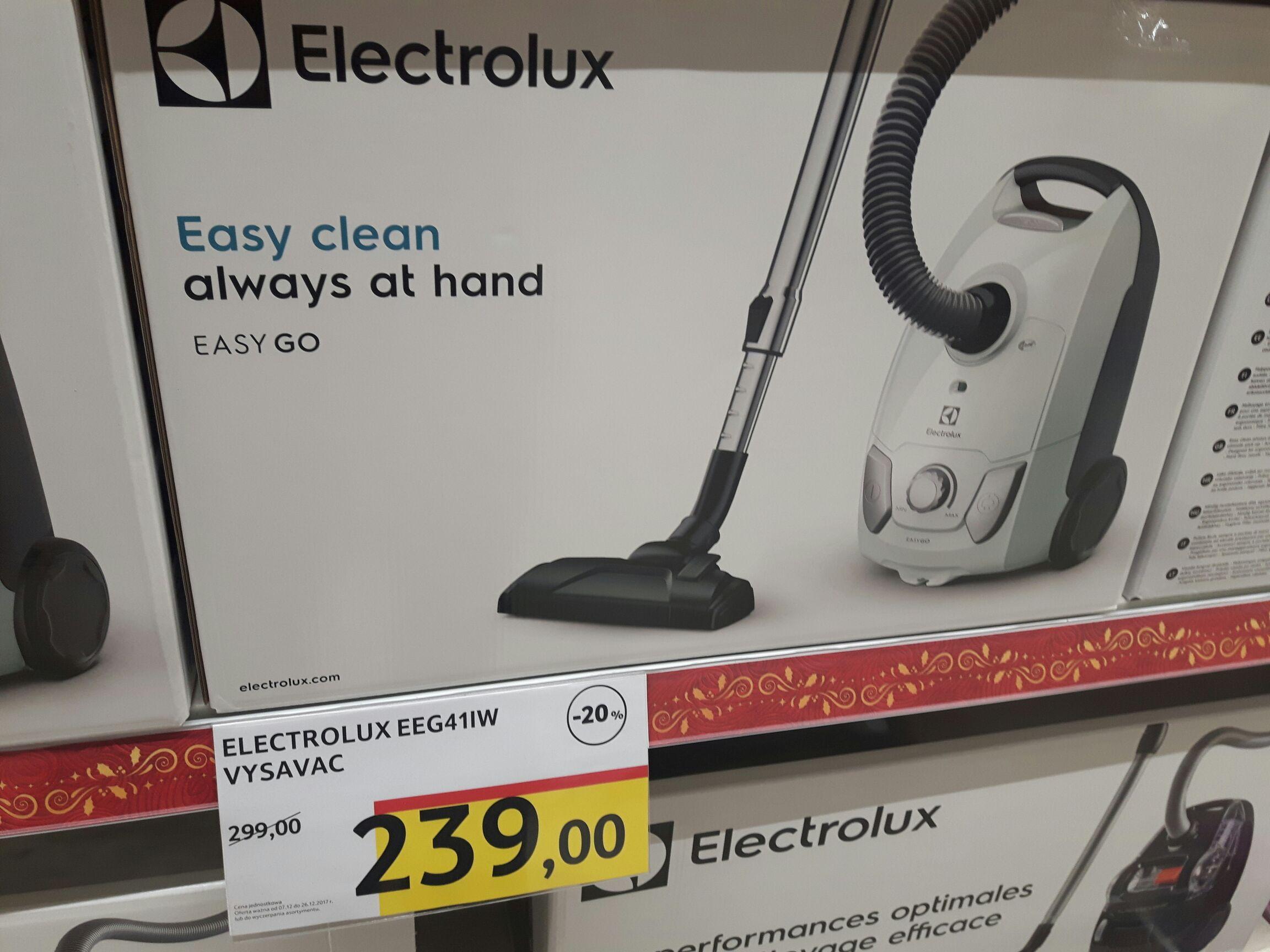 Odkurzacz Electrolux easy go 60zl taniej