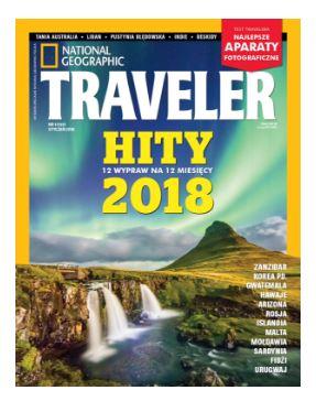 Roczna prenumerata National Geographic Traveler za 72zł
