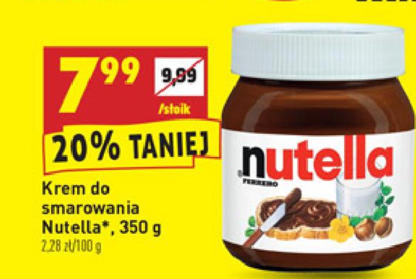W biedronce. Nutella 350g