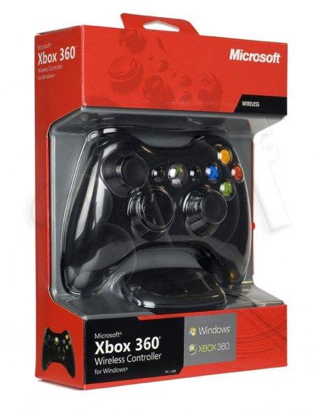 Kontroler Xbox 360 Bezprzewodowy Czarny
