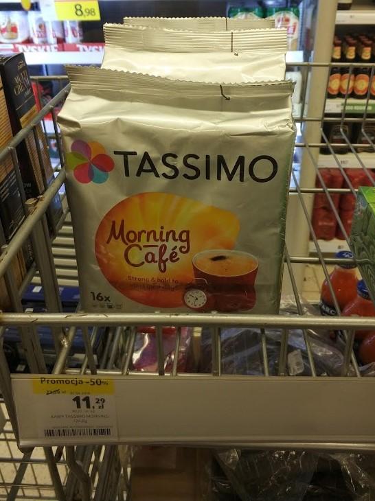 Kapsułki kawy TASSIMO Morning Café do ekspresu Tassimo