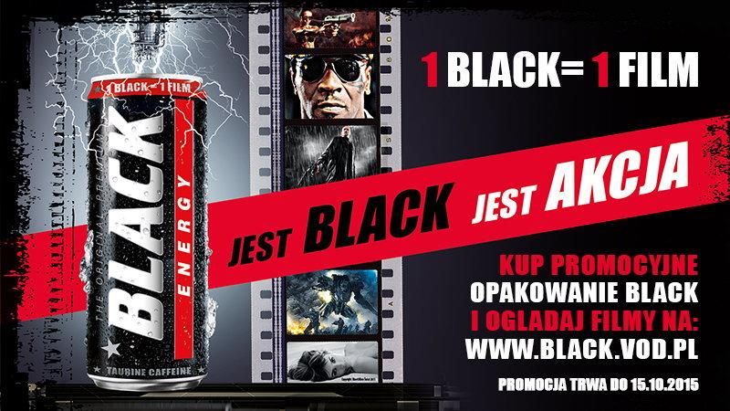 1 Black = 1 Film @ Black Energy Drink