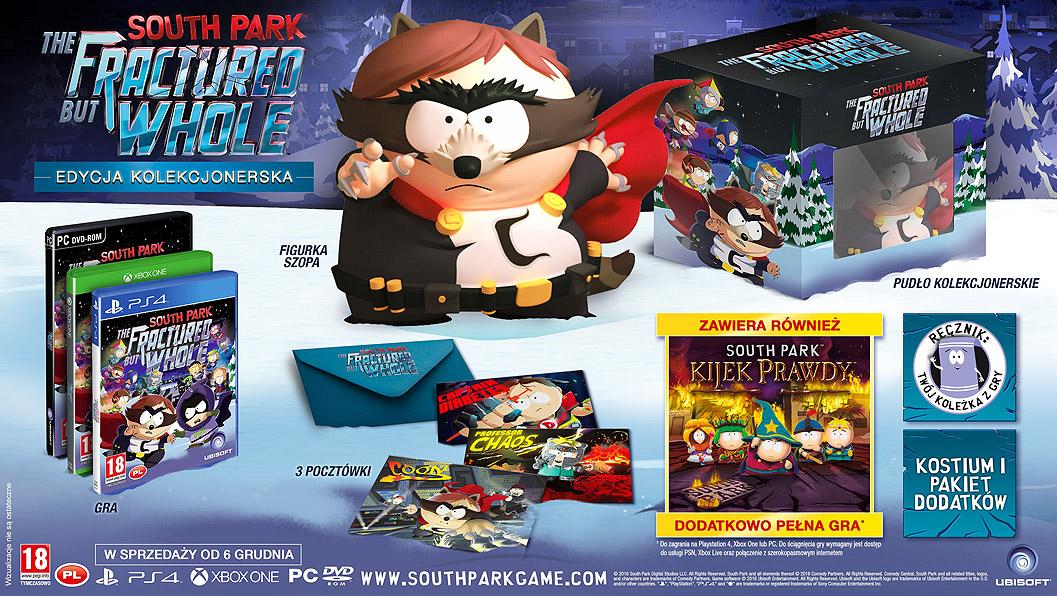 South Park The Fractured But Whole Edycja Kolekcjonerska PL Xbox One