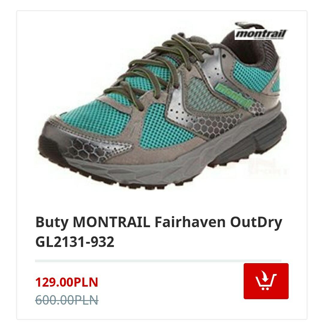 Damskie buty MONTRAIL Fairhaven OutDry GL2131-932