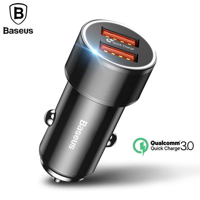 Ładowarka samochodowa Baseus 2x QC 3.0