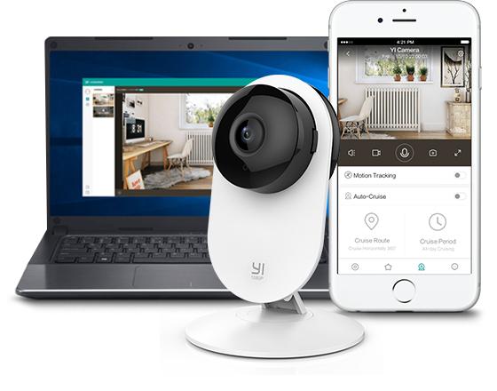 Kamera domowa Yi Home 50 zł taniej z polskiej dystrybucji, z 2-letnią gwarancją w Polsce i błyskawiczną dostawą